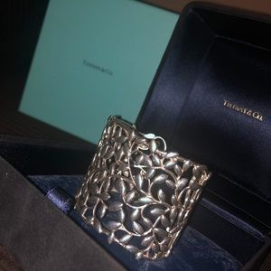 Tiffany Paloma Picasso Sterling Olive Leaf Cuff